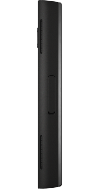 Nokia X6 16GB Black back