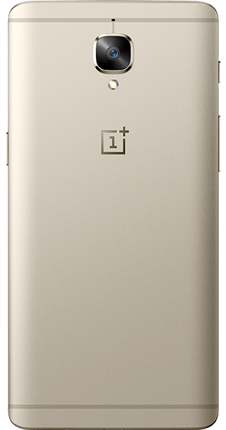 OnePlus 3T 64GB Gold back