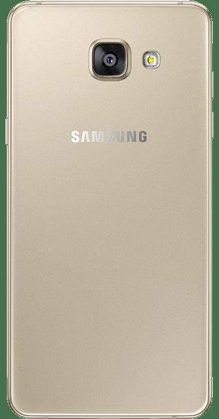 Samsung Galaxy A3 2016 Gold back