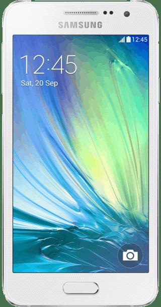 Galaxy A3 White