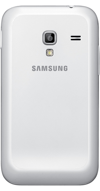 Samsung Galaxy Ace Plus White back