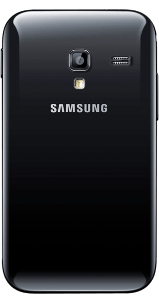 Samsung Galaxy Ace Plus back