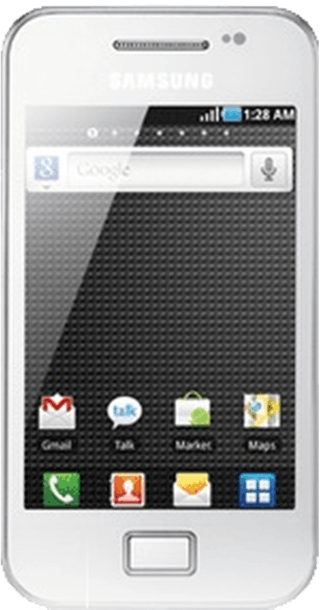 Samsung Galaxy Ace White front