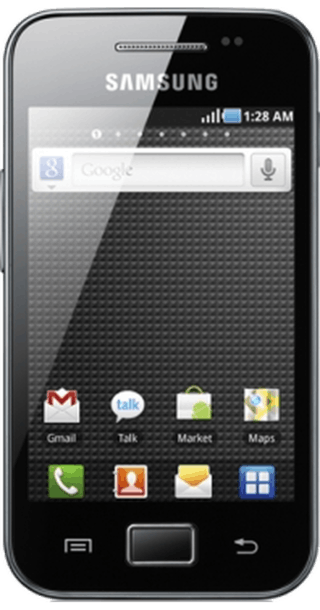 Samsung Galaxy Ace front