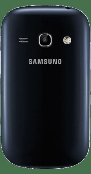 Samsung Galaxy Fame back