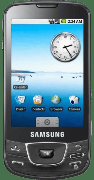 Samsung Galaxy i7500 front