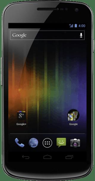 Samsung Galaxy Nexus front