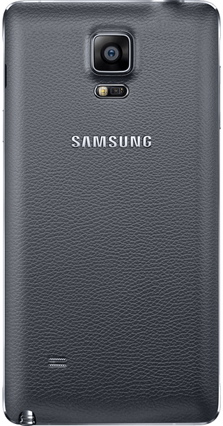 Samsung Galaxy Note 4 back