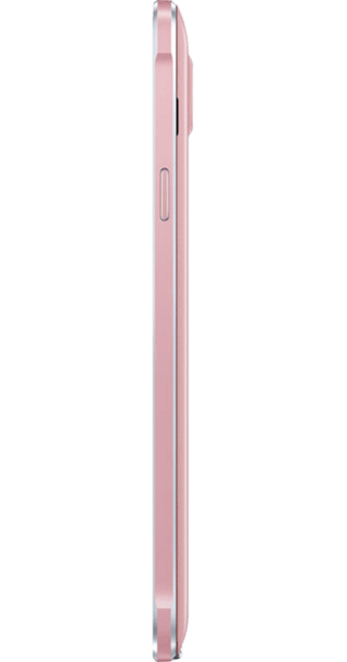 Samsung Galaxy Note 4 Pink side