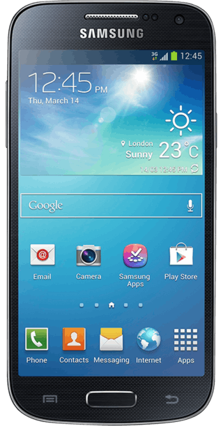 Samsung Galaxy S4 Mini front