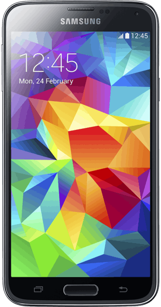 Samsung Galaxy S5 16GB Black front