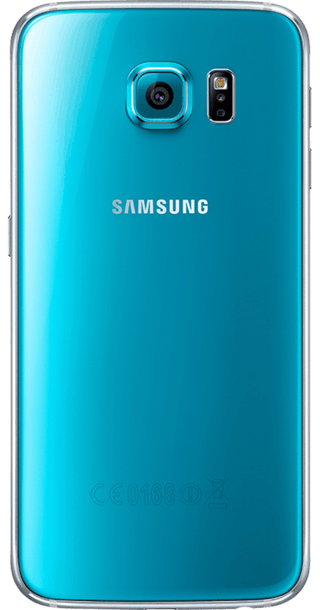 Samsung Galaxy S6 64GB Blue back