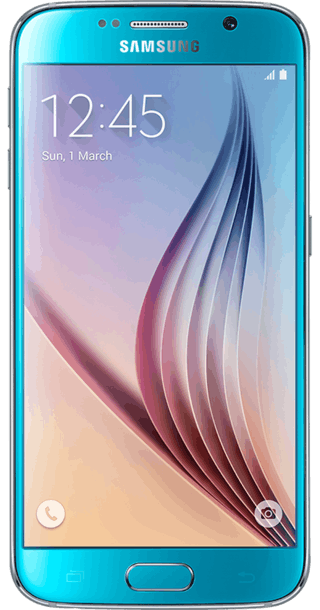Samsung Galaxy S6 64GB Blue front