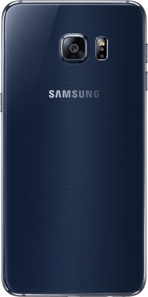Samsung Galaxy S6 Edge Plus 32GB Black Sapphire back