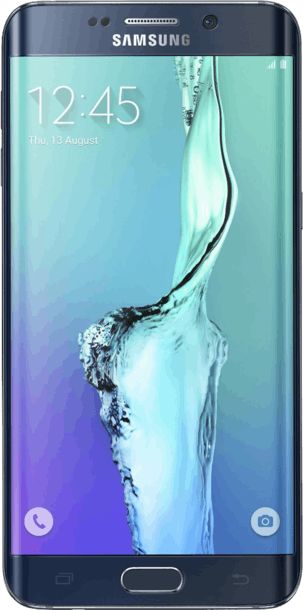 Samsung Galaxy S6 Edge Plus 32GB Black Sapphire front