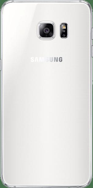 Samsung Galaxy S6 Edge Plus 32GB White Pearl back