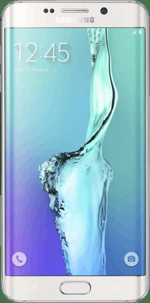 Samsung Galaxy S6 Edge Plus 32GB White Pearl front