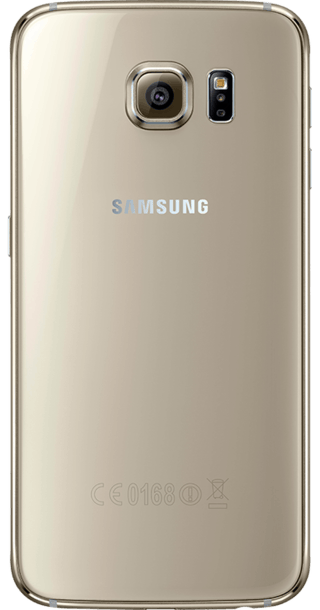 Samsung Galaxy S6 32GB Gold back