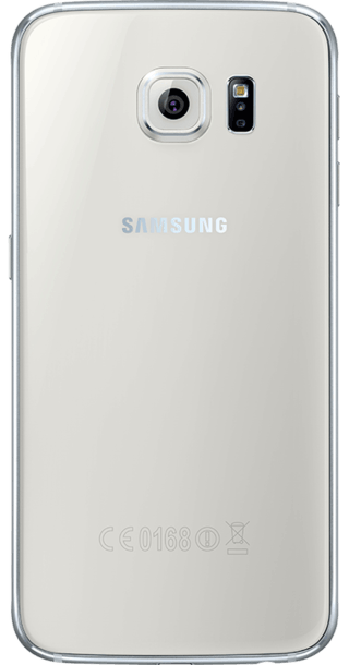 Samsung Galaxy S6 128GB White back
