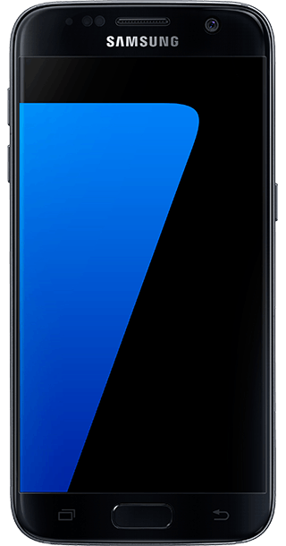 Samsung Galaxy S7 32GB Black front