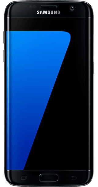 Samsung Galaxy S7 Edge 32GB Black front