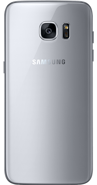 Samsung Galaxy S7 Edge 32GB Silver back