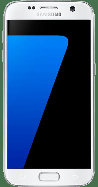 Samsung Galaxy S7 32GB White front