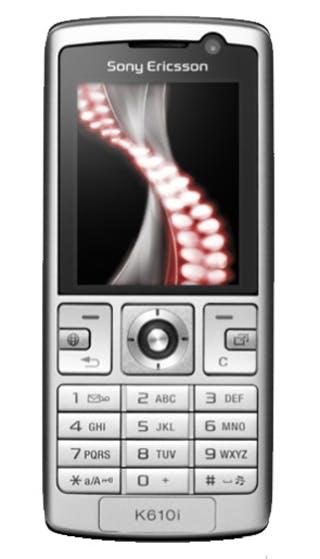 Sony Ericsson K610i front