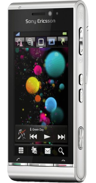 Sony Ericsson Satio back
