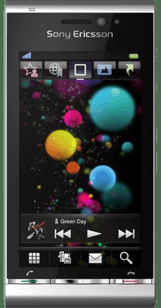 Sony Ericsson Satio front