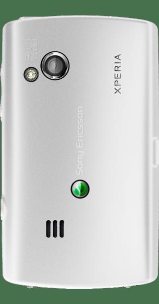 Sony Ericsson Xperia X10 Mini Pro White side