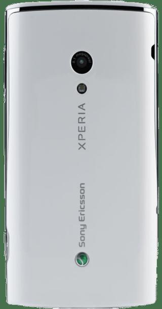 Sony Ericsson Xperia X10 White back