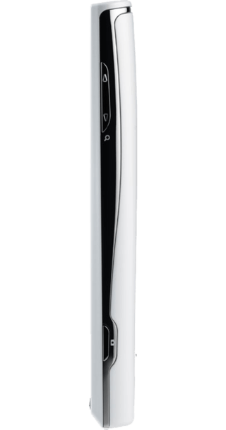 Sony Ericsson Xperia X10 White side
