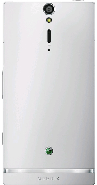 Sony Xperia S White back