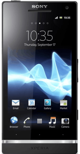 Sony Xperia S front