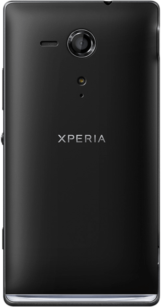 Sony Xperia SP back