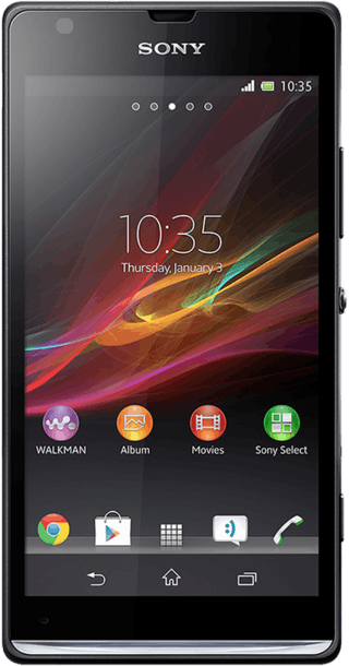 Sony Xperia SP front