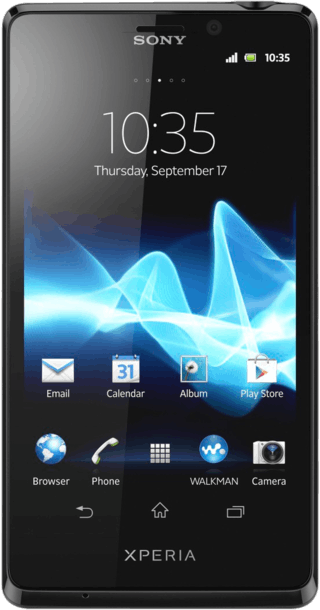 Sony Xperia T front