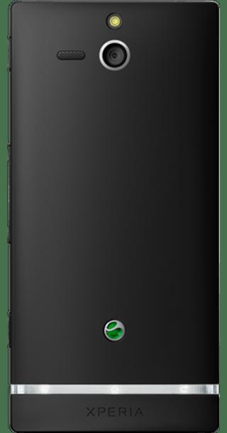 Sony Xperia U back