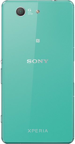Sony Xperia Z3 Compact Green back