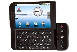 T-Mobile G1 Black back